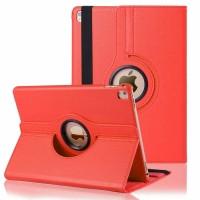 """Красный кожаный чехол для iPad Pro 10.5"""" 360 Rotating Red"""