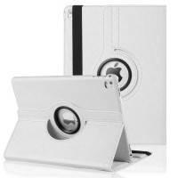 """Кожаный чехол  для iPad Pro 9.7"""" 360 Rotating White"""