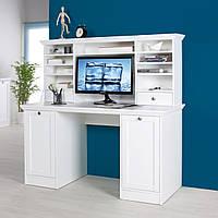 Письменный компьютерный стол из массива дерева 103