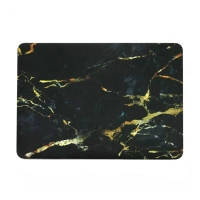 """Мраморный чехол Marble Black/Yellow для MacBook Air 11"""""""
