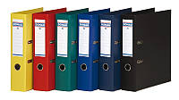 Папка-регистратор А4 Donau Premium 75мм серая 3975001PL-13