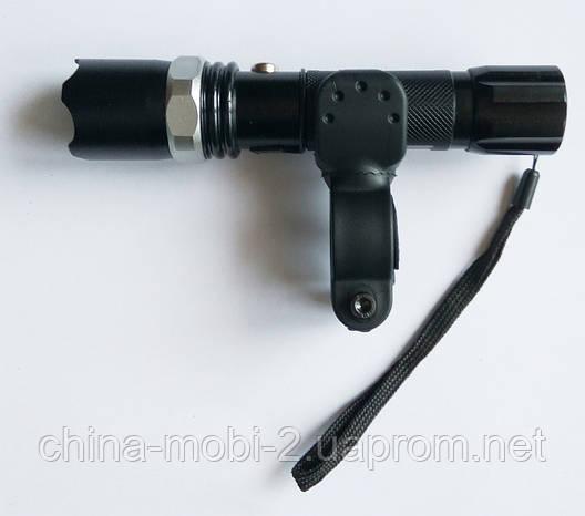 LED-фонарик Police BL-8628 99000W с креплением на велосипед, фото 2