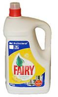 Средство для мытья посуды Fairy сочный лимон 5 литров