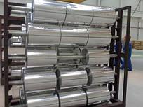 Фольга алюминиевая 0,009х440,  8011, порезка доставка купить цена