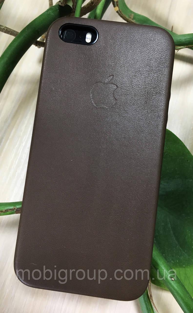 Кожаный чехол- накладка для iPhone SE/5S/5 от Apple