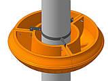 Хомут для вазона фонарного 750, фото 3