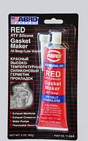 Герметик силиконовый красный 85 г Or.11 - AB CH (пр-во ABRO)