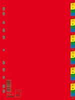 Индекс-разделитель Donau цифровой А4 7736095