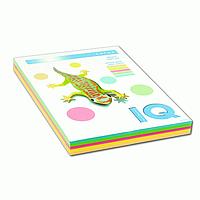 Набор цветной бумаги А4 IQ RB01 пастель