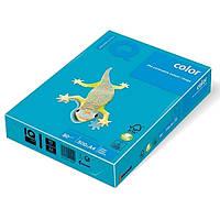 Бумага цветная А4 IQ AB48 синяя