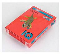 Бумага цветная А4 IQ CO44 красная