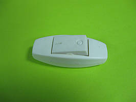 Выключатель для бра клавишный, белый