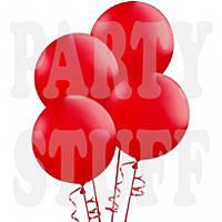 """Маленькие воздушные шары Gemar Красные 3""""(8 см), 100 шт"""