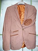Мужские пиджаки с налокотниками(два цвета)