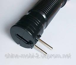 Фонарик аккумуляторный  YH-8817 черный, фото 2