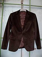 Стильный мужской велюровый пиджак
