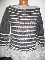 Женское вязаное платье туника
