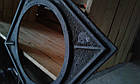 Плита чугунная печная однокомфорочная  под казан ПД-1К (530 х 530 мм.), фото 4