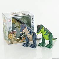 Музыкальный динозавр 3 вида, ходит, издает реалистичные звуки дикого животного и двигает ртом, WS5302