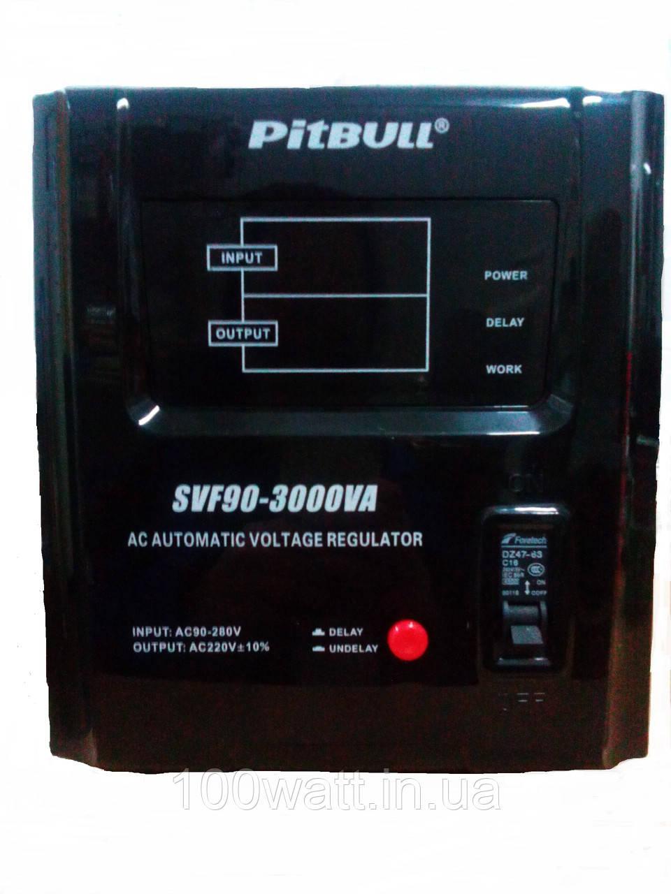 Cтабилизатор напряжения Pitbull SVF 90 3000w