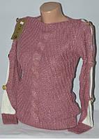 Нарядная женская кофта с бантиками на спинке