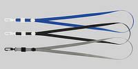Шнурок для бейджа с карабином Buromax серый BM.5425-09