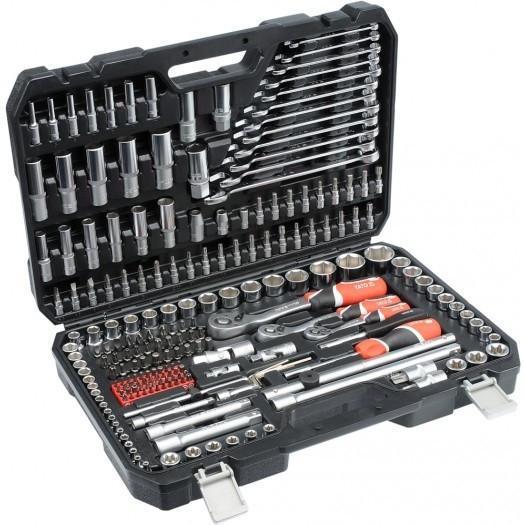 Професійний набір інструментів Yato YT-3884 216 предметів ( набір автомобільних інструментів )