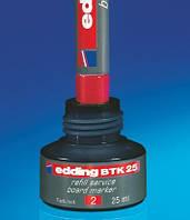Чернила для заправки маркера Edding Board BTK25 красные