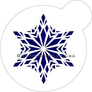 Трафарет М112 Снежинка 10