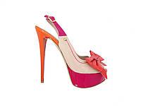 Кожаные женские босоножки на каблуке Mario Muzi №21338, фото 1