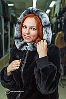 Красивая куртка из меха бобра «Бадби»