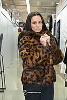 Леопардовая кулиска из меха нутрии «Алексина»