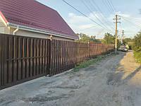 Секция односторонняя ПРЕМИУМ 2м*1,5м. Металлический забор производство.