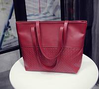 Женская сумка с ручками большая повседневная на плечо Big Bag