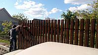 Секция односторонняя ПРЕМИУМ 2м*1,25м. металлический забор,цена.