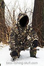 Костюм для охоты и рыбалки -5* усиленная алова дубоый лес