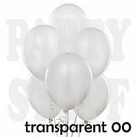 Воздушные шарики Gemar А50 Прозрачный, 5' (13 см) 100 шт