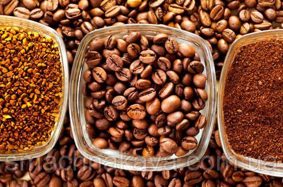 купить кофе по самым низким ценам в Украине в интернет магазине Смачна Кава