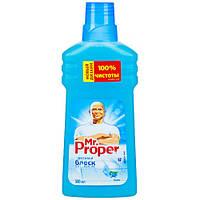 Средство для мытья пола и стен Mr Proper горный источник и прохлада 500мл