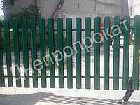 Секция односторонняя ПРЕМИУМ 3м*1м. Ворота калитка.