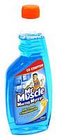 Mистер Мускул для стекол сменная бутылка 575мл