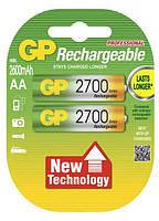 Аккумуляторы GP Batteries AA (R6) 2700mAh NiMh 2шт