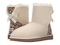 Женские ботинки UGG Mini Bailey Bow Liberty Sand (бежевый)