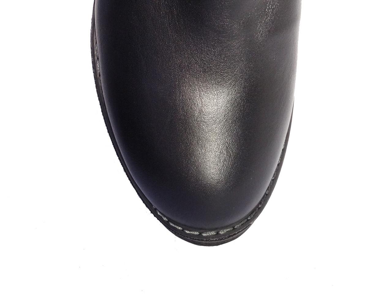 4c34f8cdf488 Женские кожаные зимние сапоги низкий ход Tucino №101-1141