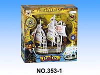 """Игровой набор """"Пиратский корабль"""" 353-1,  со светом и музыкой"""