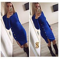 Женское повседневное аноровое платье №29-673