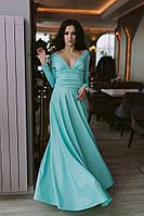 Женское вечернее платье в пол №17-365