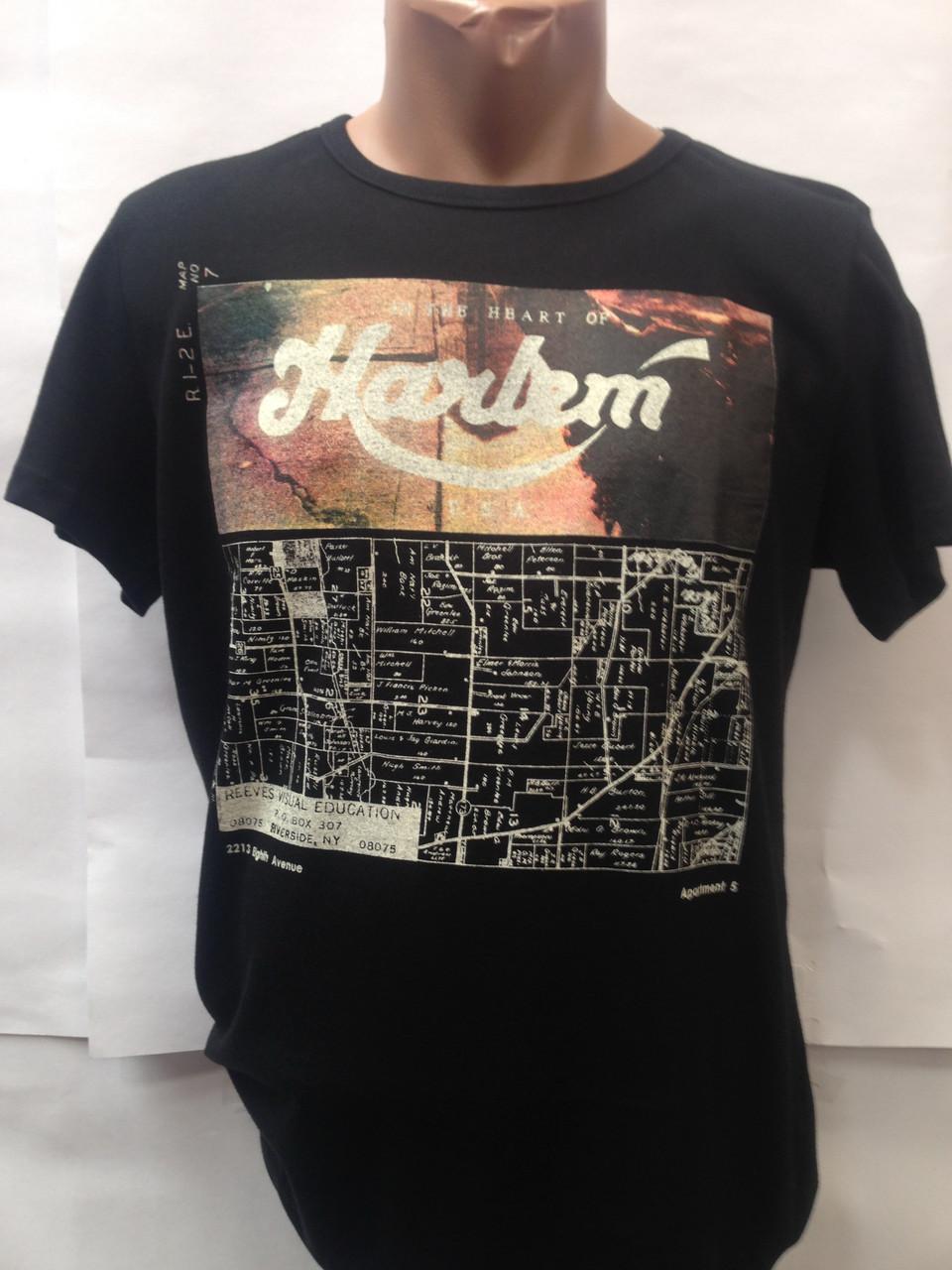 Мужская футболка Harlem