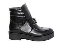 Кожаные демисезонные женские ботинки с Donna Ricco №Н-484 eac4ecbea2d