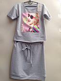 Детский костюм футболка+юбка